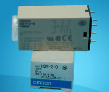 OMRON Timer Relay H3Y-2-0 100-110VDC NEW IN BOX