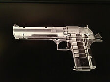 "Desert Eagle pistol Print  10"" x 20"", ready to frame, firearm, sidearm, Xrayguns"