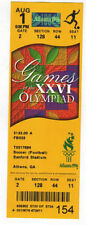 Ticket Olympic Games ATLANTA 1996 Football Woman`s FINAL USA - CHINA