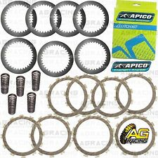 Apico Clutch Kit Steel Friction Plates & Springs For Kawasaki KXF 250 2011 MotoX