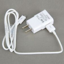 Portable Wall Charger USB Data Sync Cable For SAMSUNG Galaxy S4 S3 Note2 N7100