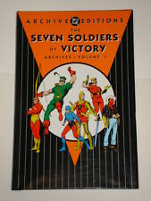 DC ARCHIVE EDITIONS SEVEN SOLDIERS OF VICTORY VOL 1 HARDBACK GN 1401204015