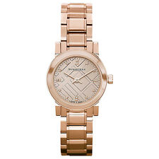 Burberry BU9215 The City Ladies Rose Gold Women's Stainless Steel Wrist Watch
