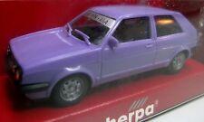 herpa VW VOLKSWAGEN Golf II GTI 9. Herpa IAA mint boxed H0 1/87 violett lila