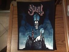 GHOST,SUBLIMATED LARGE BACK PATCH