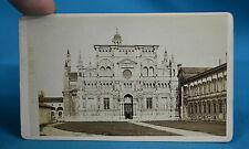 1870s Italian CDV 3851 Pavia La Certosa Carte De Visite Giacomo Brogi Firenze