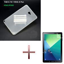 """Case Cover in gomma morbida + pellicola per 10.1 """"Samsung Galaxy Tab A P580 P585"""
