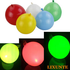 5X12inch Flashing LED Air Balloon Light Up LED for Wedding Party Home Decoration
