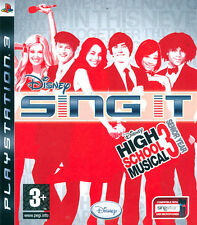 Disney Sing It! High School Musical Ps3 Playstation 3 IT IMPORT