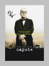 "CAPOTE PP SIGNED POSTER 12""X8"" PHILIP SEYMOUR HOFFMAN"