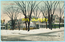 NJ Plainfield ~ TRUELL COURT~ Divided back EARLY Vintage POSTCARD New Jersey
