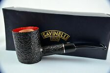 Savinelli Vesuvio 311 Stand up Poker Pfeife pipe pipa 9mm Filter neu/ovp