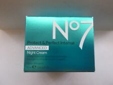 No7 Protect And Perfect Intense Advanced Night Cream 50ml BRAND NEW Full Size!