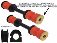 4PC Easy Fit Sway Bar Link + Bushing for Chevrolet GMC Cadillac