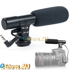 Sidande MIC-01 3.5mm DV Stereo Microphone Mic For Canon Nikon Video DSLR Camera