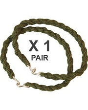 1 x Pair Trouser Twists Bungee Twist Elastic Leg Ties Army Combat Military Boots