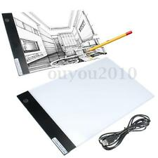 Dimmable A4 Thin LED Art Stencil Light Pad Tracing Board Animation Drawing Table