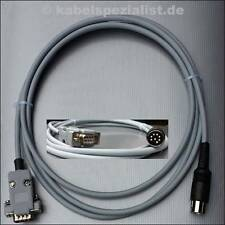 Commodore C128 / C128D Kabel an TTL-Monitor DIN 8pol