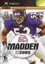 Madden NFL 2005 (Microsoft Xbox, 2004) - European Version