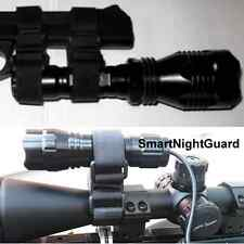 2PC Flashlight Clamp Mount For Streamlight LED Torch Laser Rifle ScopeTorch