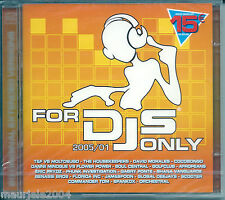 For DJS Only 2005/01 (2005) 2CD NUOVO Gabry Ponte. David Morales T&F e Moltosugo