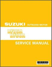 Suzuki DF25A DF30A Four Stroke EFI Outboard Motor Service Repair Manual CD
