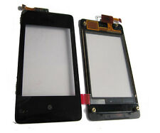 Nokia Asha 502 N502 Touch screen Digitizer Top Front Panel Pad Black New UK