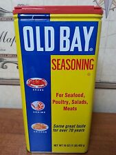 Old Bay Seasoning No MSG TFF  16 oz Tin Can for Meat and Seafood