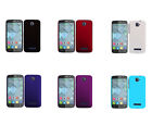 Hard Rubberized Matte Snap-On Cover Case for Alcatel One Touch POP C7 /OT-7040