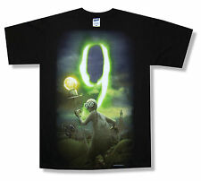 "9 ""MOVIE POSTER"" BLACK T-SHIRT NEW OFFICIAL TIM BURTON ADULT SMALL S"