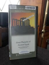 Great Courses Great Pharaohs of Ancient Egypt on 2 DVDs, book, case,  #3588