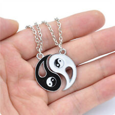 Chic Necklace Jewelry Lovers Friends China Element Bagua White Black Exquisite