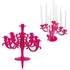 BIRTHDAY CANDLE HOLDER CAKE PARTY + 9 CANDLES CANDELABRA WEDDING ANNIVERSARY NEW