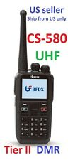 CS580 UHF Analog/Digital Tier II DMR radio   US Seller