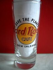 HRC Hard Rock Cafe New Orleans STP Save The Planet Shotglass Schnapsglas