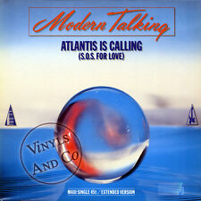 MODERN TALKING - Atlantis Is Calling [Extended] Germany MAXI 45 TOURS ITALO 12""