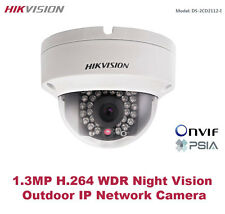 Hikvision USA - DS-2CD2112F-I/1.3MP HD720P Outdoor IR IP Vandal Dome/PoE/3-Axis