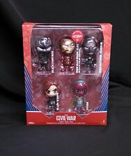 Hot Toys Captain America Civil War Cosbaby Exclusive Team Iron Man Gift Set