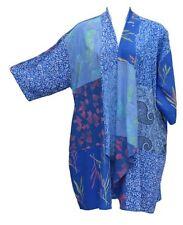 Sky Cascading Patch Kimono Jacket NWT  1X - 4X OS  Art to Wear