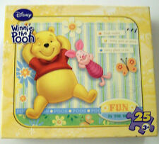 NIB Disney's Winnie the Pooh Fun in the Sun 25 Piece Puzzle 3+ 2007 Boys & Girls