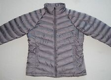 New! $160 THE NORTH FACE Women's M Goose Down Medium Jacket Gray Lavender Coat