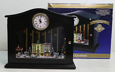 2011 Mr Christmas CLASSIC CARS Animated Musical Chimes Clock Plays 70 Songs