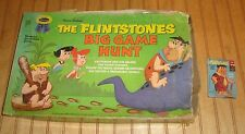 Rare Vintage 1962 Whitman Flintstones Big Game Hunt & 1961 Card Game