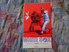 1964 CHICAGO WHITE SOX PROGRAM Baseball 98 WINS, 1 GAME OUT! Boston Red Sox AD