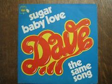 DAVE 45 TOURS FRANCE SUGAR BABY LOVE++