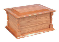 Bede Cremation Ashes Casket (Wooden / Coffin / Funeral Urn / Adult Size)