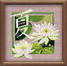 """Summer Cross Stitch Kit ( Riolis 811) 7.75"""" x 7.75"""""""