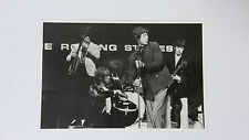 The Rolling Stones Mick Jagger group vintage music postcard POST CARD 4