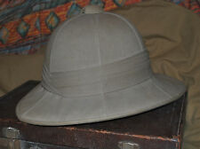 WW2  BRITISH WOLSELEY PITH HELMET COLONIAL  DESERT