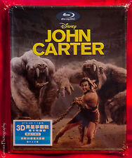 John Carter 2D+3D Blu-ray Steelbook (VMB), HK Edition, New/Mint Region Free
